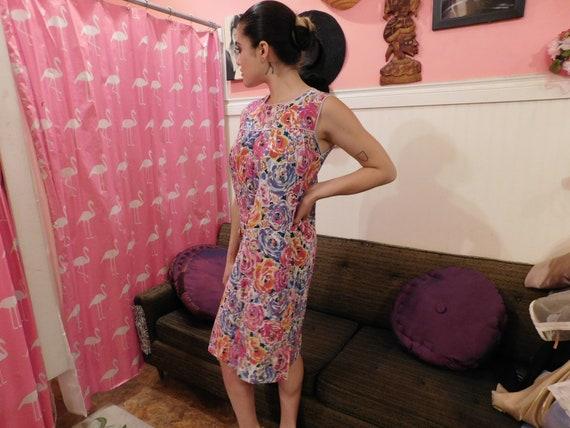 Cotton Farm Dress / Size Medium / Summer dress  1… - image 4
