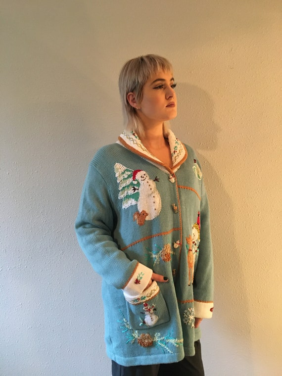 Ugly Christmas sweater / size 1x