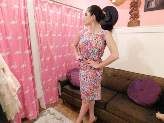 Cotton Farm Dress / Size Medium / Summer dress  1… - image 7