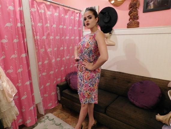 Cotton Farm Dress / Size Medium / Summer dress  1… - image 2
