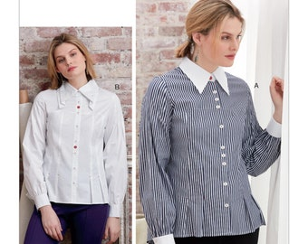 ffe1f1d897c Vogue Sewing Pattern V9333 Misses  Shirt