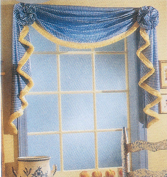 McCall's Pattern M3089 Window Valance