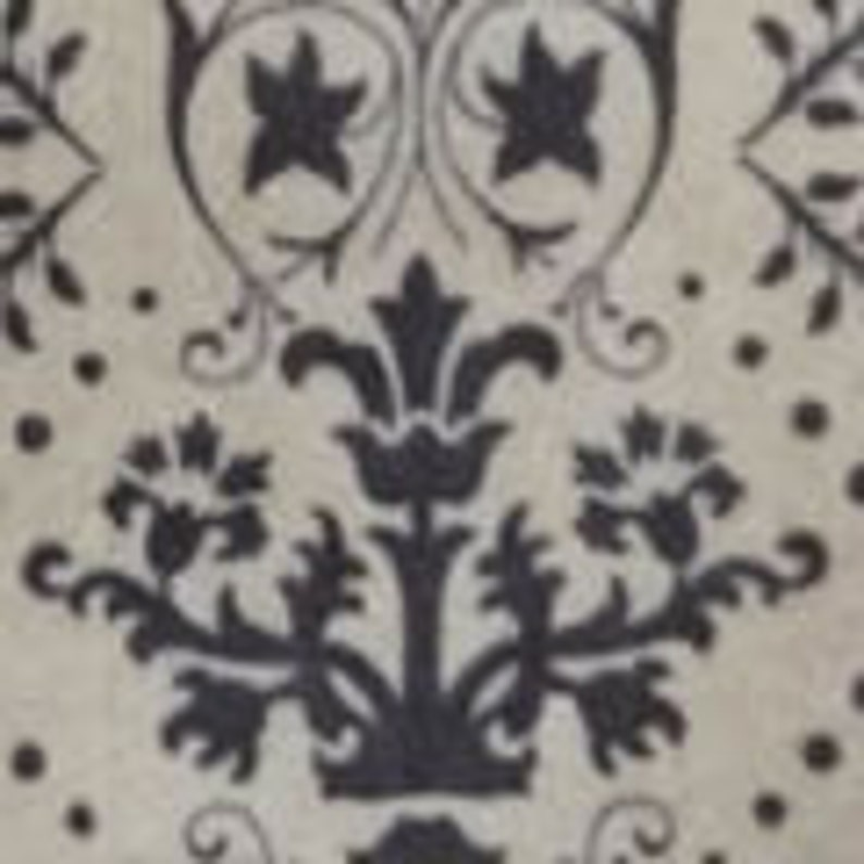 Heathered Floral Luxe Fleece Fabric 1 yard 6 inches