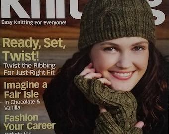 Creative Knitting Instruction Magazine - November 2010
