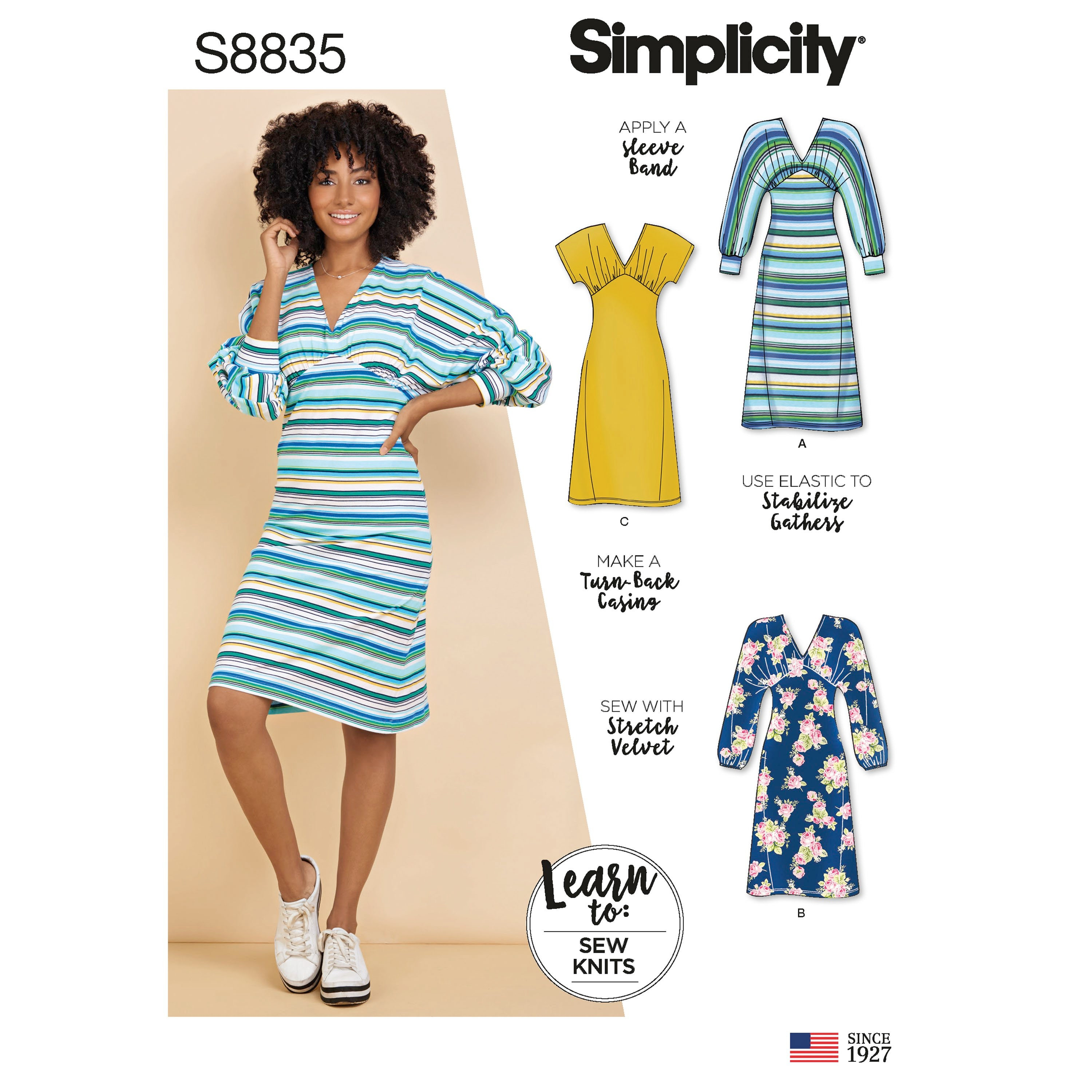 Size 6-14 *New* Simplicity Sewing Pattern S8855 Misses/' Knit Overalls