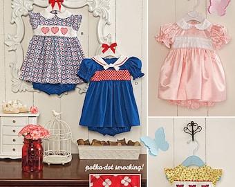 Simplicity Pattern 1205 Babies' Dress and Panties