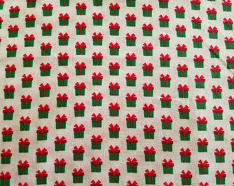 Presents Cotton Fabric (1 yard 35 inches)