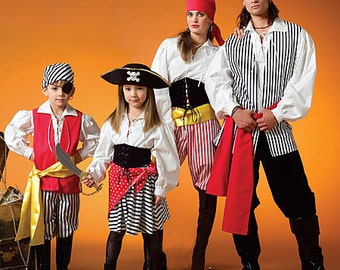 OUT of PRINT McCall's Sewing Pattern M4952 Misses'/Men's / Children's / Boys' / Girls' Costumes