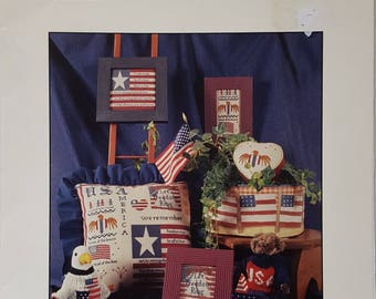 Let Freedom Ring Counted Cross Stitch Instruction Booklet