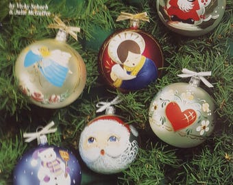Fancy Painted Ornaments Instruction Booklet