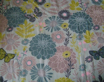 Spring Meadow Main Cotton Fabric  (1 yard 13 inches)
