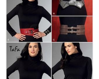 Vogue Pattern V9222 Misses' Belts in Five Styles
