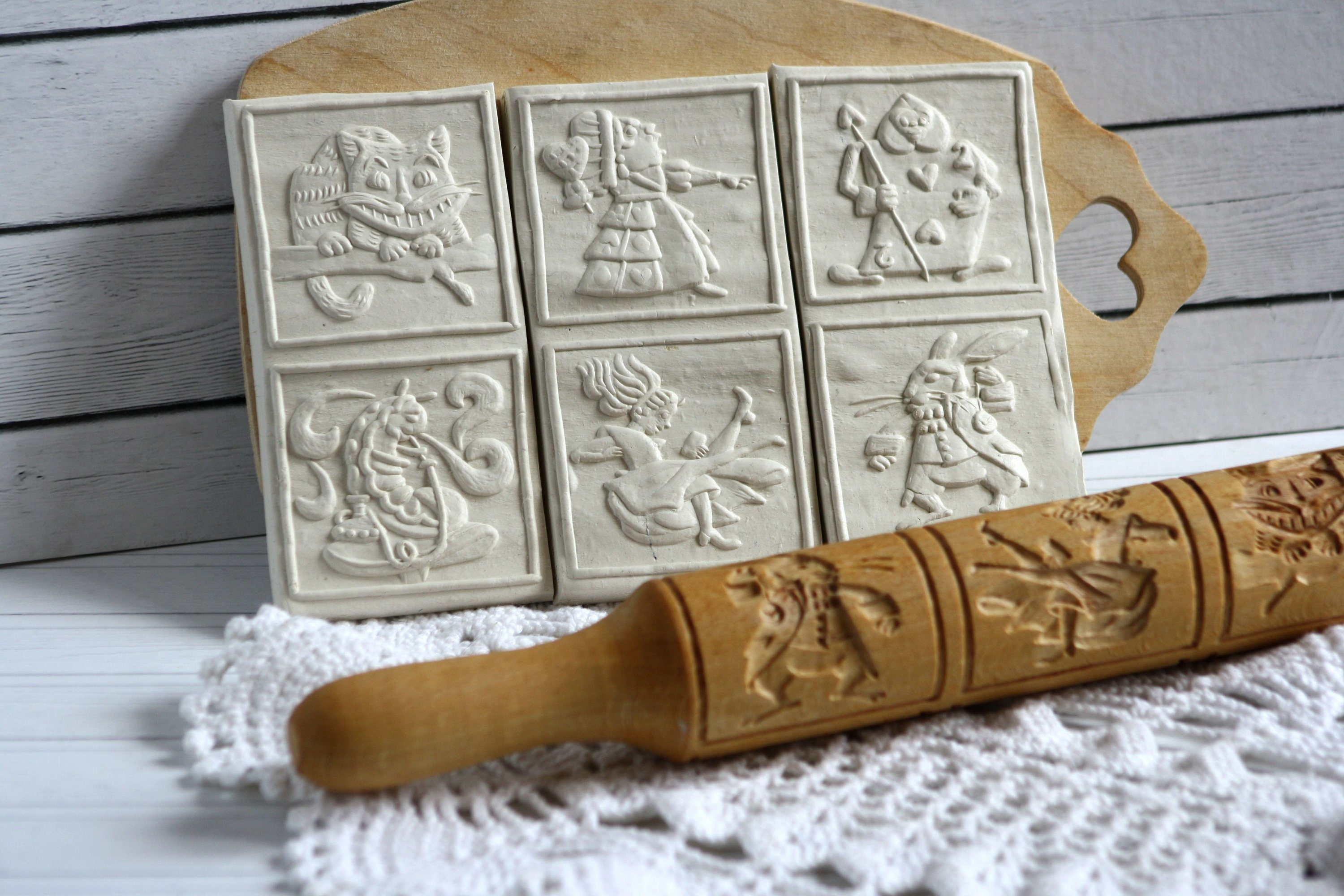 Personalised Hand Engraved Rolling Pin Baker Gift Birthday Bake Off