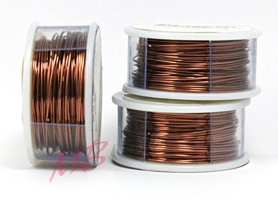 Copper Wire Craft Projects | 26 Ga Tarnish Resistant Antique Copper Wire Crafting Wire For Etsy
