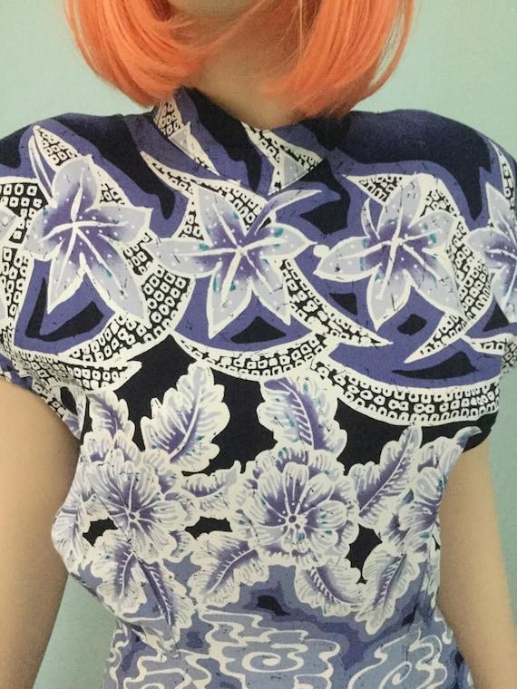 Vintage Art Deco Style Dress,Size 8, 80's Dresses,