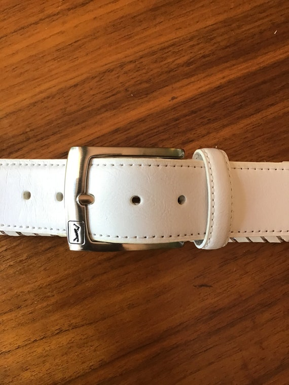 Vintage 80s .Golf Braid Belt,Size36 Belt,Vintage W