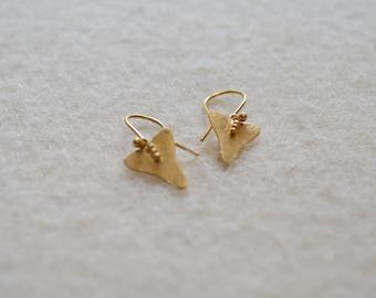 Gold BOA Earrings