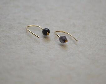 IMAN stone earrings