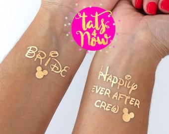 525217de8 disney bachelorette party, temporary tattoos perfect for your bachelorette  party favors, great gift for your bridesmaids and bride to be