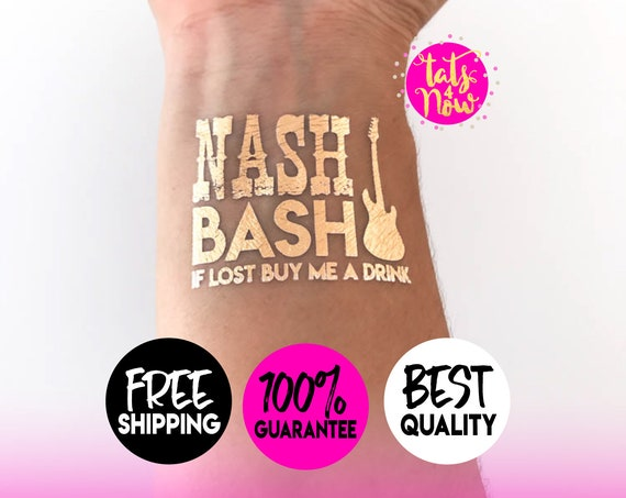 Nash Bash Nashelorette Nashville Gold Tattoos