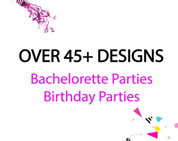 We offer over 45 Different designs and themes!