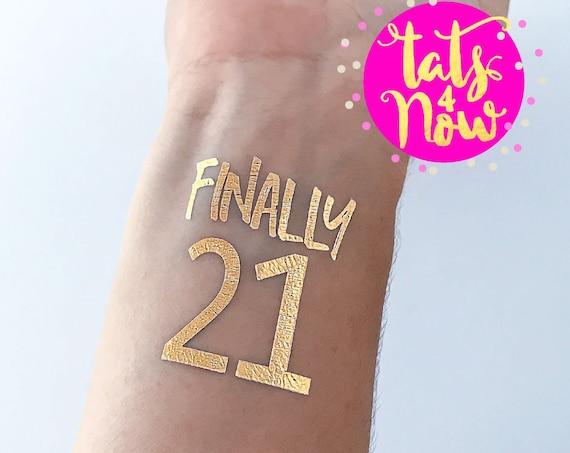 Fun 21st birthday gift for her twenty one birthday party