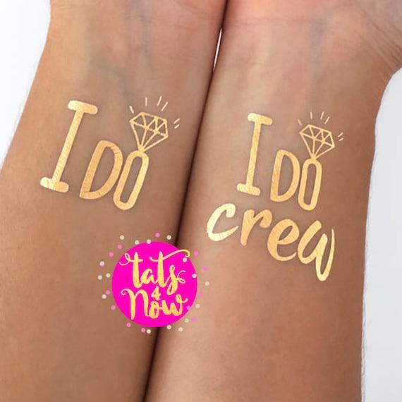 I do crew + I do gold tattoos