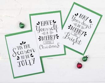 christmas card pack christmas songs card festive songs card christmas lyrics card favourite festive songs card christmas cards