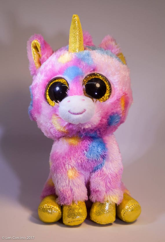 Unicorn Plush Beanie Boo Unicorn Plush Night Light Light Etsy