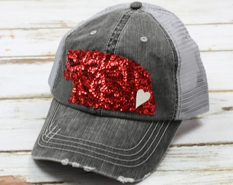 Nebraska Hat, Sequin Nebraska Hat, State of Nebraska