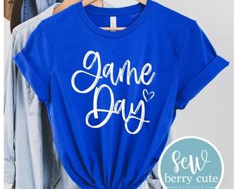 Game Day T-Shirt, Baseball, Softball, Soccer, Basketball