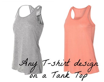 Substitute Tank Top ADD ON