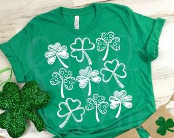 Shamrocks , St Patrick's Day Shirt