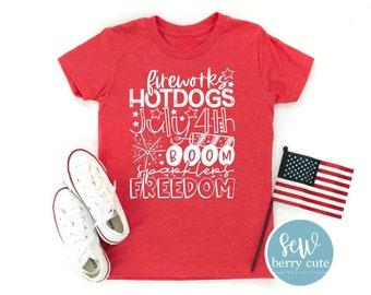 4th of July T-Shirt, KIDS