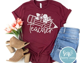Teacher T-shirt, Graphic T-shirt