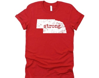 Nebraska Strong T-shirt