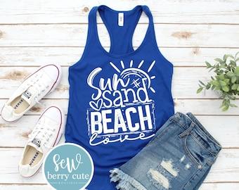 Sun Sand Beach Love