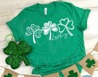 Lucky , St Patrick's Day Shirt