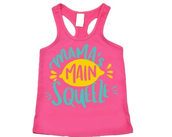 Mama's Main Squeeze Tank Top, Summer Shirt