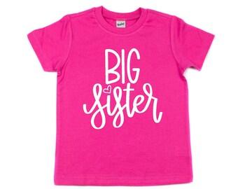 Big Sister Shirt, Baby Announcement, Sibling Shirt