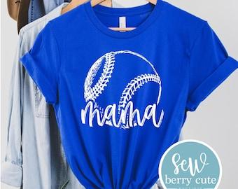 Baseball/Softball Mama T-Shirt, Baseball Mom, Softball Mom