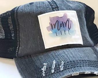 Mom Life Hat, Mom Hat, Mama hat