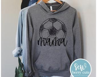 Soccer Mama Hoodie, Soccer Mom, Women's Hoodie