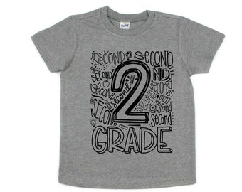 2nd Grade Shirt, Back to School Shirt