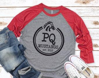 PQ Mustangs Raglan