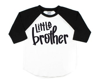 Little Brother Shirt, Lil' Bro Shirt, Pregnancy Announcement, Sibling Shirts, Little Brother