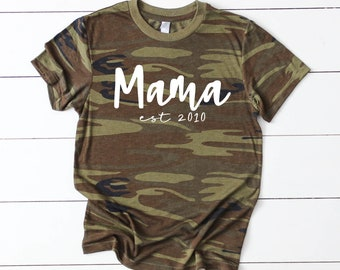 Mama Shirt, Mama Established, Mom Shirt