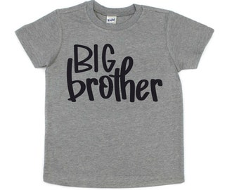 Big Brother Shirt, Pregnancy Announcement, Baby Shower Gift