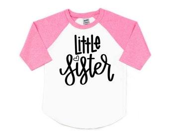 Little Sister Shirt, Lil Sis Shirt, Pregnancy Announcement, Sibling Shirts, Little Sister