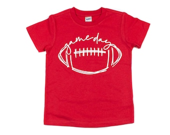 Game Day, Kids Football Shirt